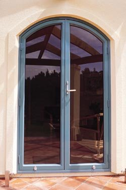 Arched Top French Doors